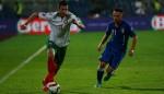Бертолачи играл 20 минути с извадено рамо срещу България