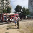 Отцепиха улица заради горящ ресторант