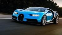Как ускорява Bugatti Chiron (видео)