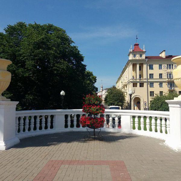 Минск, който блести от чистота