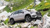Окачване на новия Mercedes-Benz GLE в действие (видео)